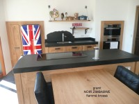 Plan de cuisine optez pour le granit avec la marbrerie vaux for Fourniture de cuisine commerciale